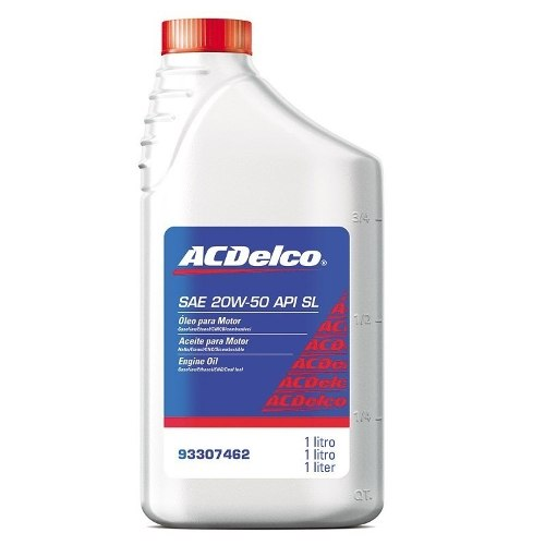 Óleo do Motor Acdelco 20w50 93307462 Acdelco Gm